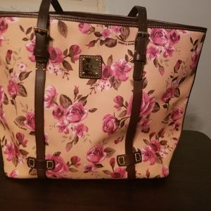 Dooney and bourke Cabbage Rose tote